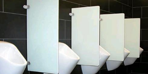 Urinal Schamwände