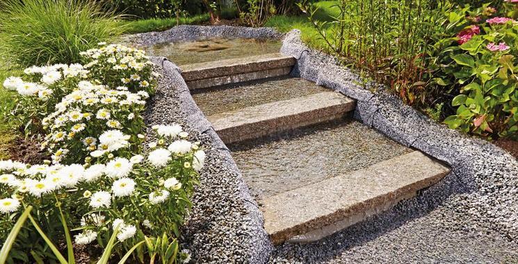Steinfolie für Gartenteiche