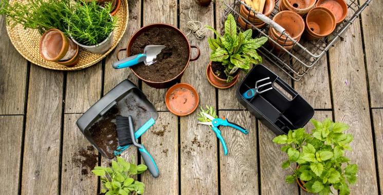 Gartengestaltung Idee Slider