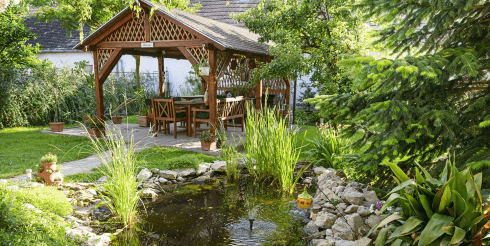 Gartengestaltung Idee Naturgarten