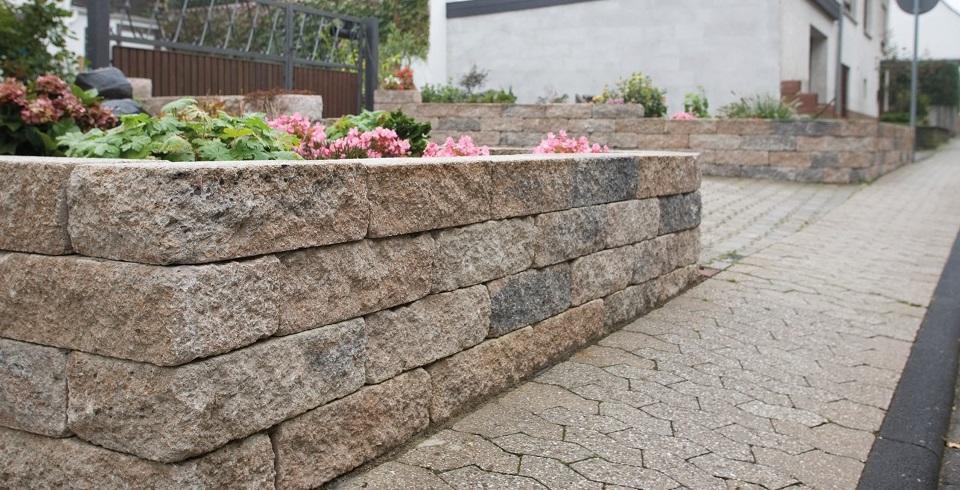 Gartenmauer gestalten - Gartenmauer gestalten ...