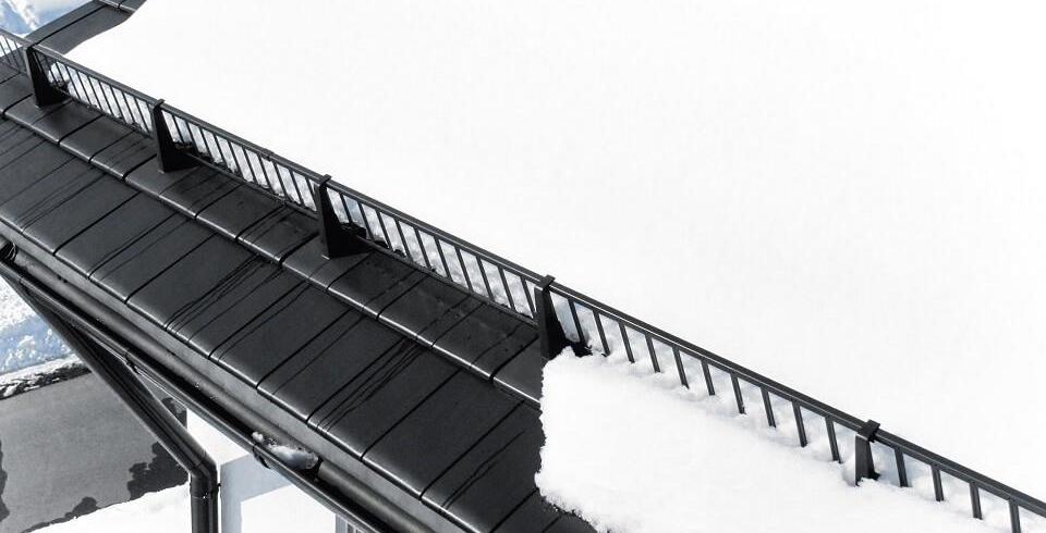 dachlawine, schneefangsystem