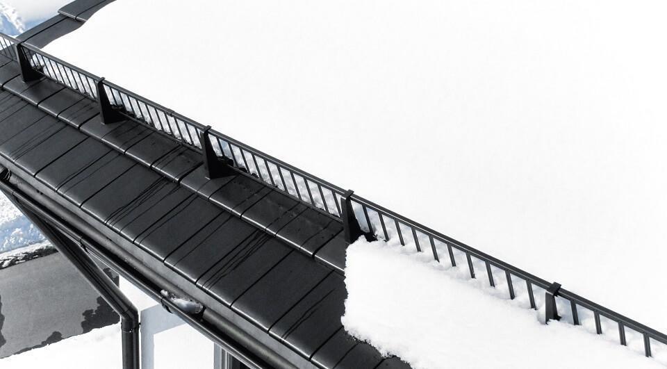 Beliebt Schneefangsysteme - Schutz vor Dachlawinen | kemmler.de XC71