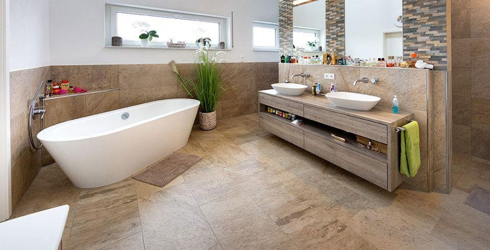 Badezimmer renovierung neues Bad