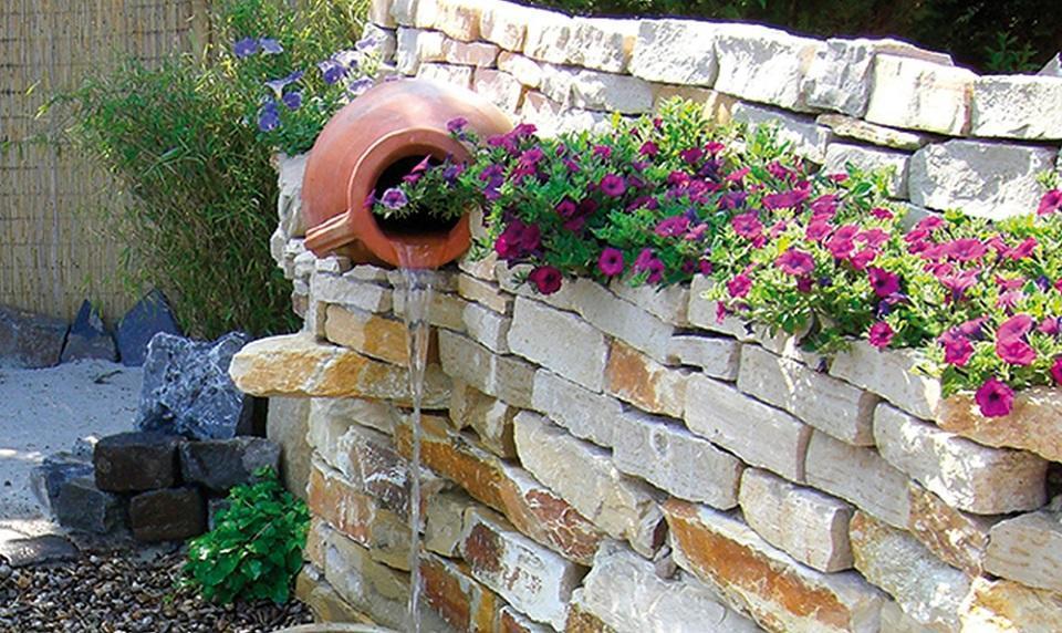 trockenmauer selber bauen