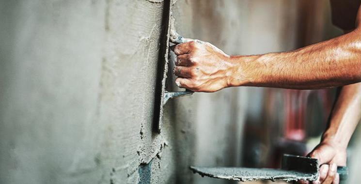 Wand ausbessern
