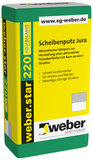 weber.star 220 Scheibenputz Jura Korn 2,0 mm