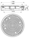HYDROTEC Guss Abdeckung - MG 104026 (4010.41)