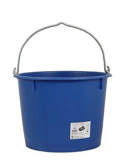 baueimer 20 liter blau mit metall senb gel 7 mm www. Black Bedroom Furniture Sets. Home Design Ideas