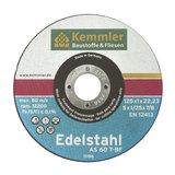 Kemmler Edelstahltrennscheibe AS 60 T 115x1x22,2 mm