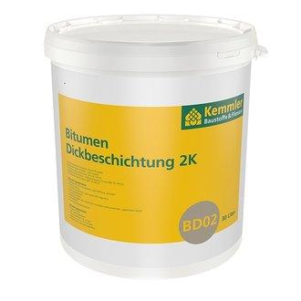 Kemmler BD02 Bitumen Dickbeschichtung 2K