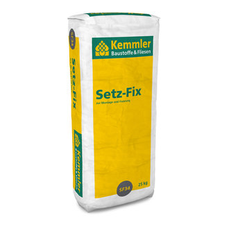 kemmler trocken fertigbeton setz fix korn 0 8 mm 25 kg sack. Black Bedroom Furniture Sets. Home Design Ideas