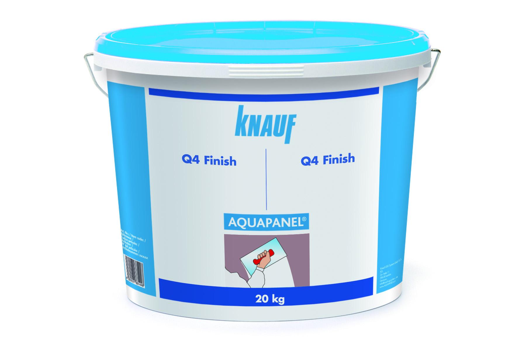 knauf aquapanel q4 finish 20 kg/eimer | www.kemmler.de
