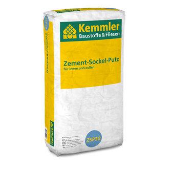 kemmler zement sockel putz 30 kg sack. Black Bedroom Furniture Sets. Home Design Ideas