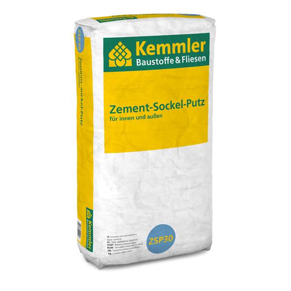Kemmler Zement Sockel Putz 30 Kgsack Wwwkemmlerde