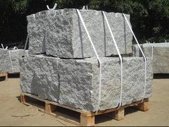 betkom mauerstein schlesischer granit 360x360x600 700 mm hellgrau. Black Bedroom Furniture Sets. Home Design Ideas