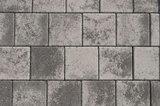 Kronimus Quadratpflaster 200x200x60 mm Schwarz-weiß meliert Nr. 645