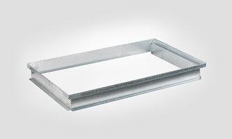 j ger zargenaufsatz f r betonlichtschacht typ d und as 800x500x75 mm. Black Bedroom Furniture Sets. Home Design Ideas