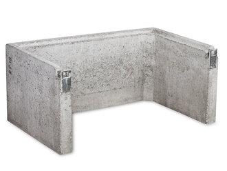 lichtschacht ohne boden 100x51x40 cm. Black Bedroom Furniture Sets. Home Design Ideas
