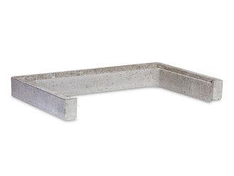 mauthe beton lichtschacht aufsatz 3 seitig 1000x510x150 mm. Black Bedroom Furniture Sets. Home Design Ideas