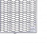MEA Gitterroste Lichtschacht begehbar Streckmetall Abmessung L/B - 1000x400 mm