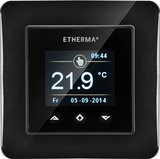 Kemmler Schaltereinbauthermostat e- Touch mini schwarz