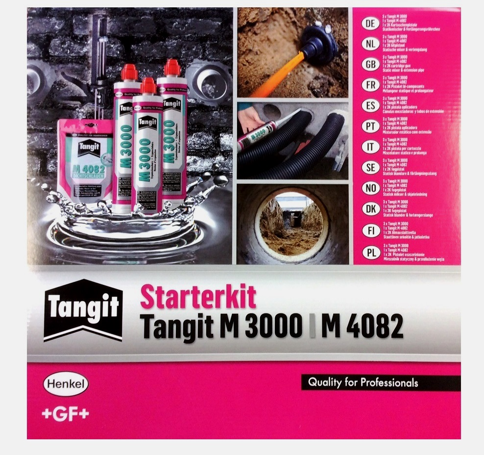 Tangit Starterkit 3xm3000 1xm4082 1x2k Kartuschenpresse Www