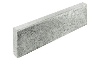 Blatt Tiefbord - grau