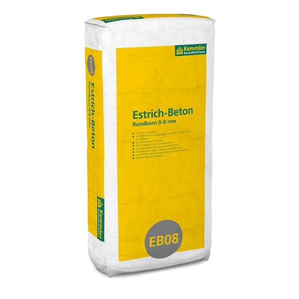 Kemmler Estrich Beton Rundkorn Kornung 0 8 Mm 30 Kg Sack Www