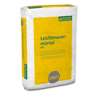 Kemmler LM21 Leichtmauermörtel MG IIa
