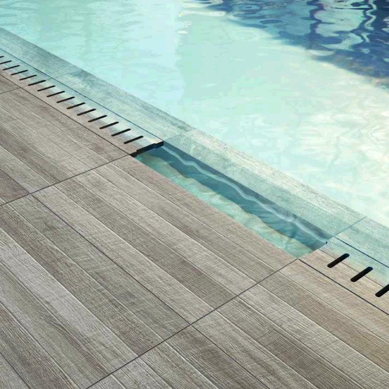 Terrassenplatte Bruma 800x400x20 Mm Feinsteinzeug Durchgefarbt