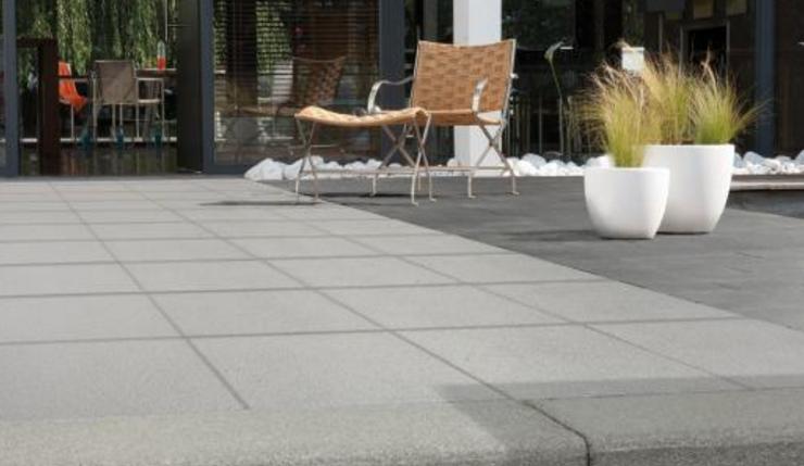 Marlux Terrassenplatte Romantic Grigio Grau Beschichtet