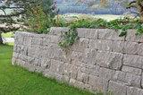 Braun - Steine Santuro Landhausmauer Endstein