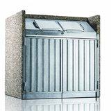 Paul Wolff Container Box KLASSIK EV plus 1100 LVP Korpus Sichtbeton Leichtverpackungen