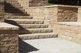 Braun Steine Santuro Landhausmauer