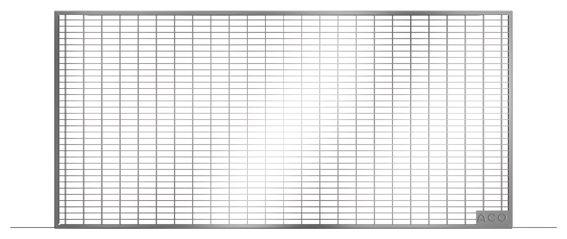 Aco Therm Lichtschachtrost Fur Lichtschacht 800x400 Mm Mw 30 30