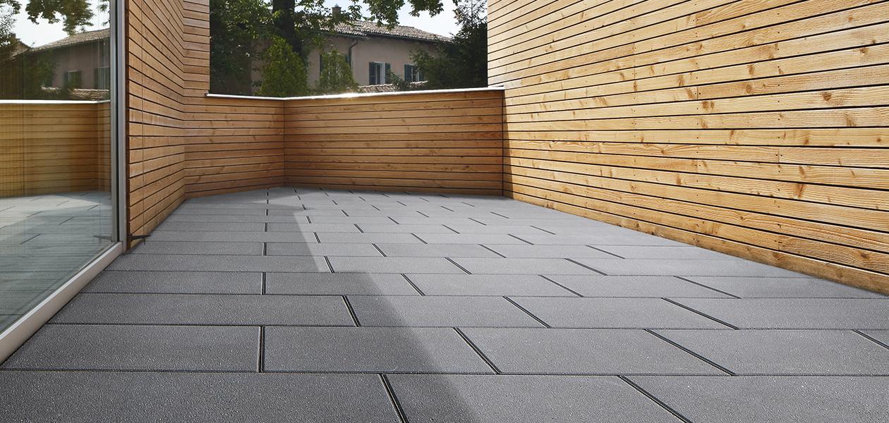 Kronimus Terrassenplatte Grandezza 600x300x80 Mm Seidenmattierte