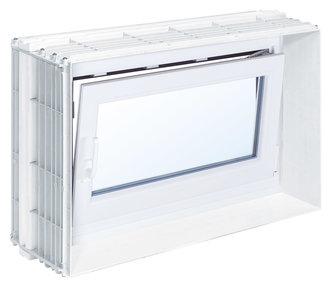 Mea bausysteme zargenfenster mealuxit aqua dreh kipp mealuxit aqua basic breite 1000 mm h he - Mea kellerfenster wasserdicht ...