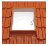 Braas Universal-Lichtkuppel Dachfenster Luminex GF rot