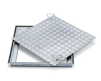 zarges schachtabdeckung stahl 47053 lichte weite 800x800x62 5 mm tagwasserdicht mit. Black Bedroom Furniture Sets. Home Design Ideas
