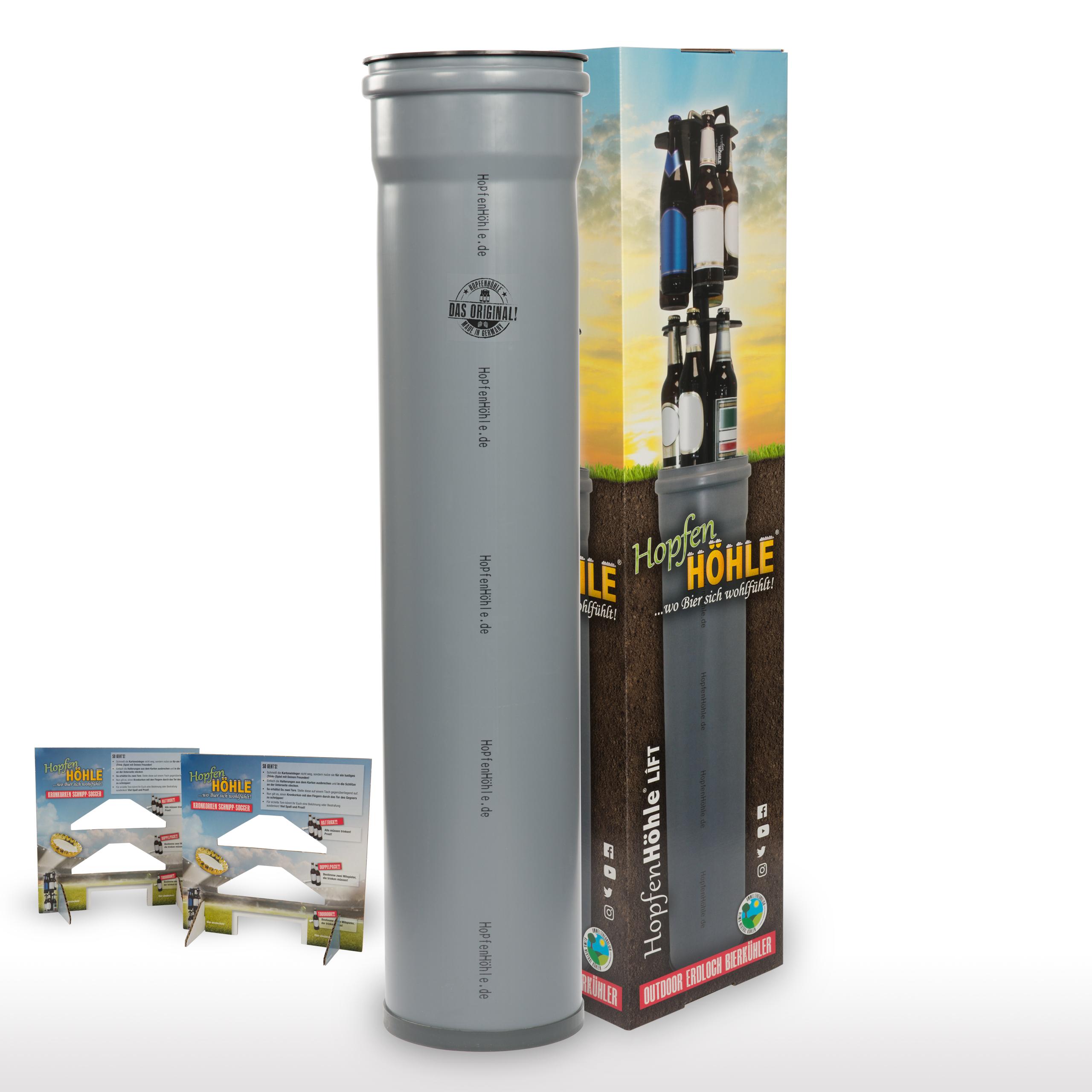 Hopfenhöhle Lift Outdoor Erdloch Bierkühler Für 15 Flaschen H 900
