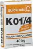 Quickmix Kalk-Zement-Mauer- und Putzmörtel K01/4 grob