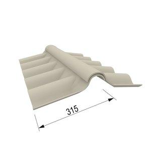 eternit wellfirsthauben oberteil profil wf5 f r links und. Black Bedroom Furniture Sets. Home Design Ideas