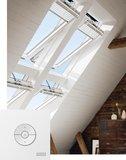 VELUX INTEGRA Elektrofenster GGU FK06 007021 FK06/66x118 cm GGU 007021 - 70 (THERMO)/Elektrisch