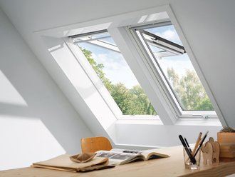 Velux Fenster Gpl Ck04 2070 Thermo Holz Weiss 550x980 Mm Www