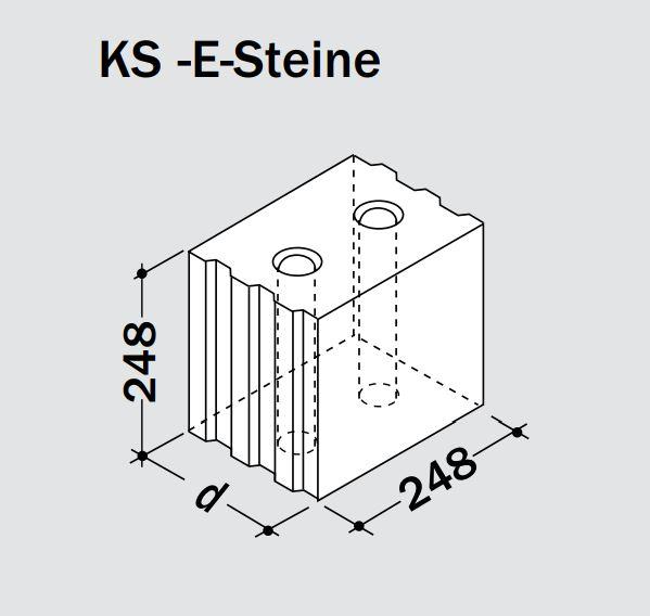 Kalksandsteinwerk Wemding Plan Lochstein 374x240x248 Mm Ksl P 1 4