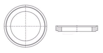 Ausgleichsring 625x100mm