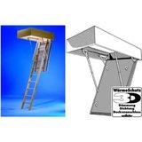 Wellhöfer Holz-Bodentreppe - 3-tlg., 3D 1200x600x250 mm