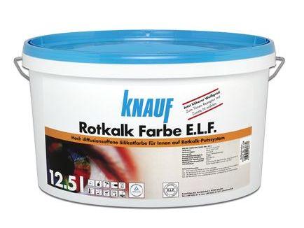 Sehr Knauf Rotkalk Farbe Hoch diffusionsoffene Silikatfarbe, 12,5 l ZH62