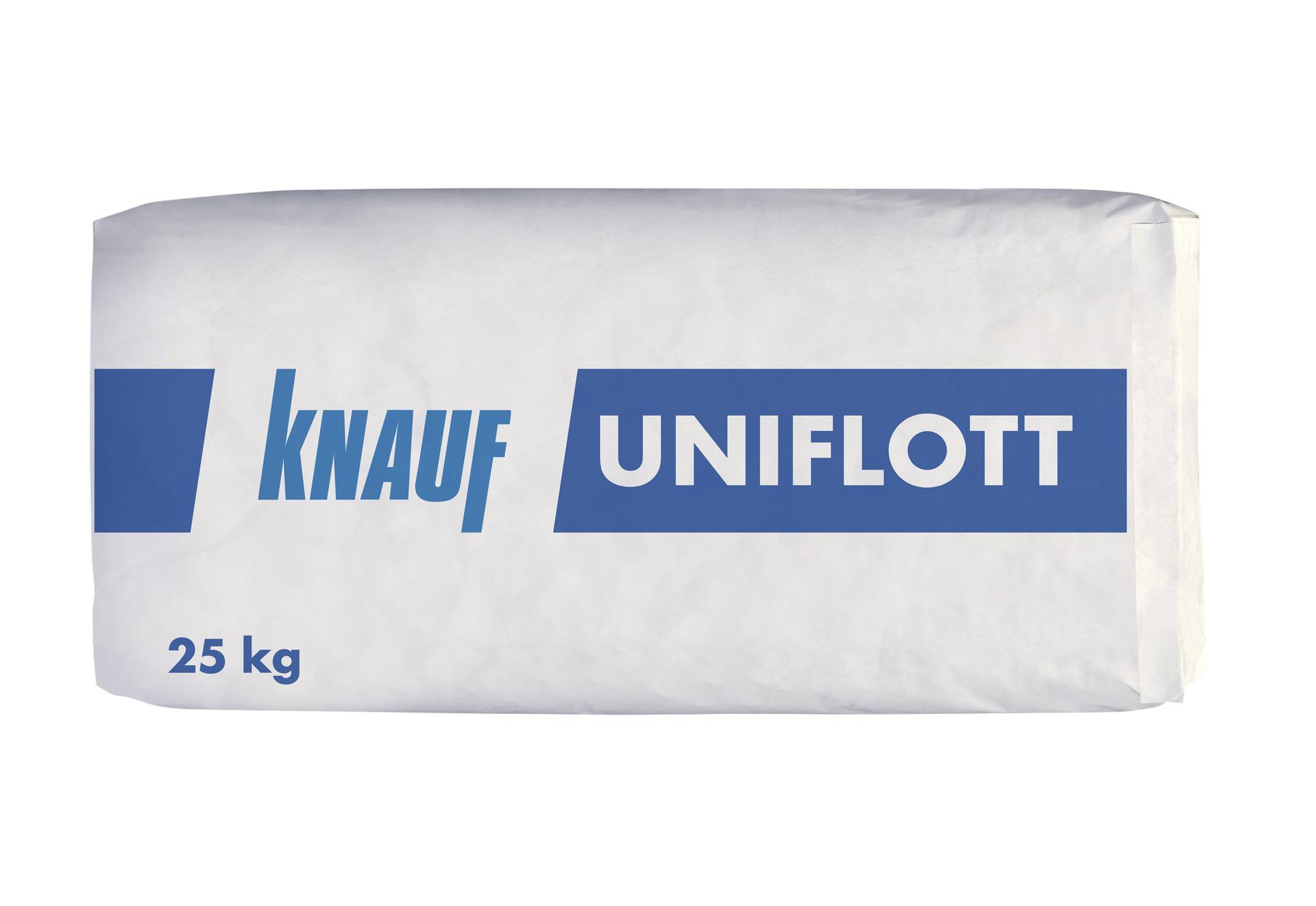 knauf uniflott fugenspachtel 25 kg / sack | www.kemmler.de